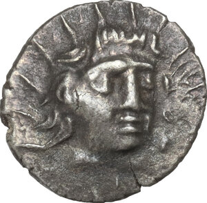 obverse: Islands off Caria, Rhodes. AR Hemidrachm, c. 170-150 BC. 'Plinthophoric' coinage