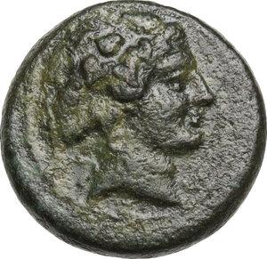 obverse: Lydia, Sardes. AE 16 mm. 2nd-1st century BC