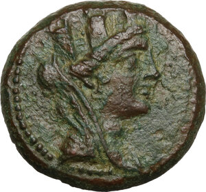 obverse: Cilicia, Aigeai. AE 23 mm, circa 130-77 BC