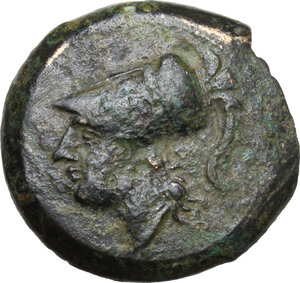 obverse: Samnium, Southern Latium and Northern Campania, Cales. AE 20 mm. c. 265-240 BC