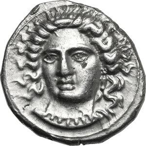 obverse: Cilicia, Tarsos.  Pharnabazos, Persian military commander (380-374/3 BC).. AR Stater. Struck circa 380-379 BC