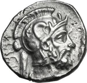 reverse: Cilicia, Tarsos.  Pharnabazos, Persian military commander (380-374/3 BC).. AR Stater. Struck circa 380-379 BC