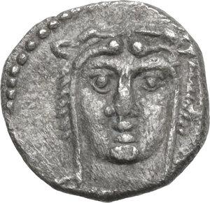 obverse: Cilicia, uncertain mint.. AR Obol, 4th century BC