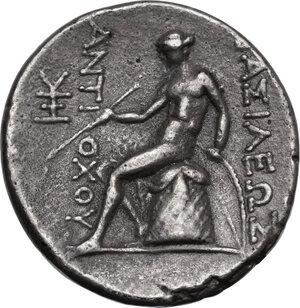 reverse: Syria, Seleucid Kings.  Antiochos III Megas (222-187 BC) . AR Tetradrachm. Antioch on the Orontes mint. Series 1, circa 223-211/0 BC