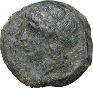 obverse: Samnium, Southern Latium and Northern Campania, Cales. AE 21 mm. c. 265-240 BC