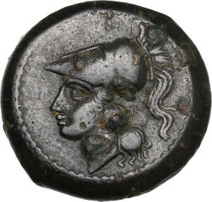 obverse: Samnium, Southern Latium and Northern Campania, Teanum Sidicinum. AE 20 mm, 265-240 BC