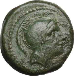 obverse: Anonymous (after 211 BC).. AE Uncia