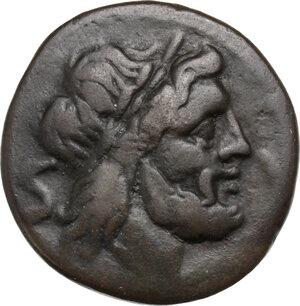 obverse: Anonymous. AE Semis, 211-208 BC, uncertain mint