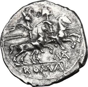 reverse: Matienus.. AR Denarius, 179-170 BC