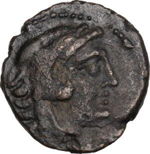 obverse: C. Numitorius C.f.. AE Quardans, 133 BC