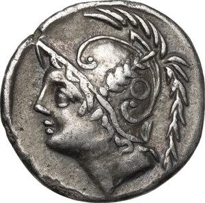 obverse: Q. Minucius Thermus.. AR Denarius, 103 BC