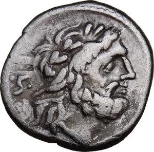 obverse: C. Fundanius. . C. Fundanius. AR Quinarius, 101 BC