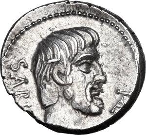 obverse: L. Titurius L. f. Sabinus. AR Denarius, 89 BC