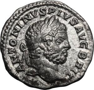 obverse: Caracalla (198-217).. AR Denarius, 210-213