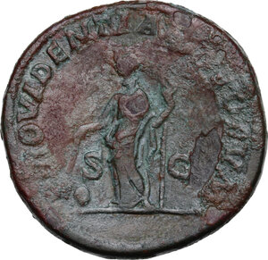 reverse: Caracalla (198-217).. AE Sestertius, 212-213 AD