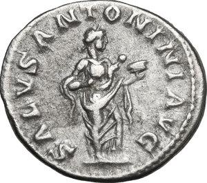 reverse: Elagabalus (218-222 AD).. AR Denarius