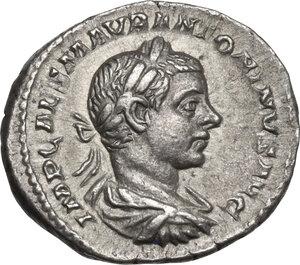 obverse: Elagabalus (218-222 AD).. AR Denarius, 219 AD