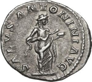 reverse: Elagabalus (218-222 AD).. AR Denarius, 219 AD