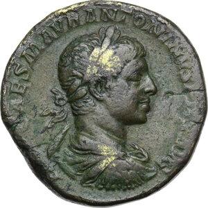 obverse: Elagabalus (218-222).. AE Sestertius. Struck 220 AD