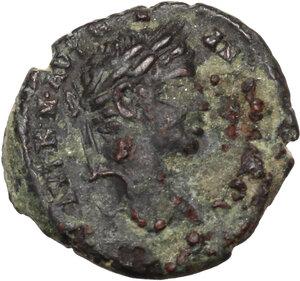 obverse: Elagabalus (218-222).. AE Assarion, Marcianopolis (Moesia Inferior)