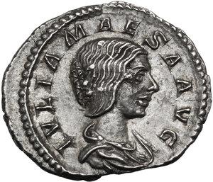 obverse: Julia Maesa (died 225 AD).. AR Denarius, 218-222