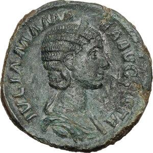 obverse: Julia Mamaea (died 235 AD).. AE Sestertius, struck under Severus Alexander, 224 AD