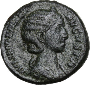 obverse: Julia Mamaea (died 235 AD).. AE Dupondius, struck 224 AD