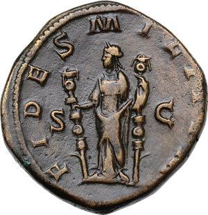 reverse: Maximinus I (225-238).. AE Sestertius, late 236-237 AD