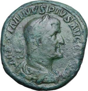 obverse: Maximinus I (235-238).. AE Sestertius, 236-238