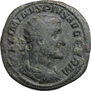 obverse: Maximinus I (225-238).. AE Dupondius, 236-238