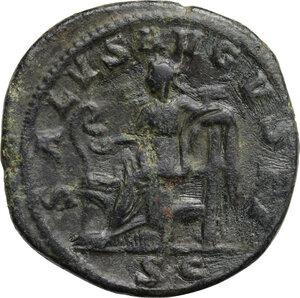 reverse: Maximinus I (225-238).. AE Dupondius, 236-238