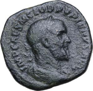 obverse: Pupienus (238 AD).. AE Sestertius. Struck May-June 238 AD