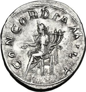 reverse: Gordian III (238-244 ).. AR Antoninianus, 3dr issue, 240 AD