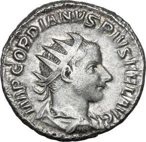 obverse: Gordian III (238-244). AR Antoninianus, 241-243 AD