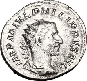 obverse: Philip I (244-249).. AR Antoninianus, 244-247