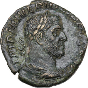 obverse: Philip I (244-249).. AE Sestertius. (17.85 gm)