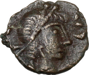 obverse: Vandals in North Africa. Gaiseric (428-477) to Huneric (447-484).. AE Nummus, Carthage. ND