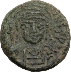 Justinian I (527-565).. AE Decanummium, 547-552, Ravenna mint
