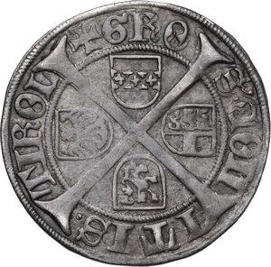 reverse: Austria.  Sigmund d. Munzreiche (1439-1490). AR Sechser, Hall mint