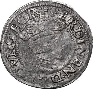 obverse: Austria.  Ferdinand I (1521-1564). AR Groschen (3 Kreuzer), 1549, Linz mint