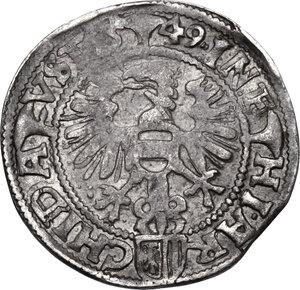 reverse: Austria.  Ferdinand I (1521-1564). AR Groschen (3 Kreuzer), 1549, Linz mint