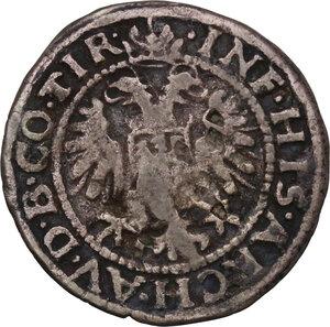 obverse: Austria.  Ferdinand I (1521-1564). AR Halbbatzen (2 Kreuzer), Hall in Tirol mint, year non visible