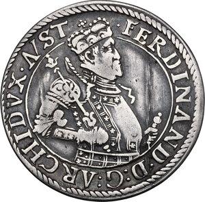 obverse: Austria.  Archduke Ferdinand (1564-1595).. AR 1/4 Taler, without year, Hall in Tirol mint