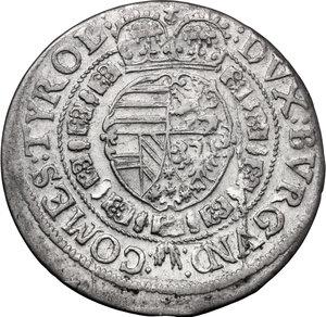 reverse: Austria.  Leopold V (1619-1632). AR 10 Kreuzer 1632, Hall mint