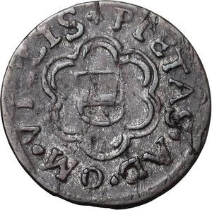 reverse: Austria.  Leopold V (1619-1632). AR Vierer (4 Heller) , Hall in Tirol mint