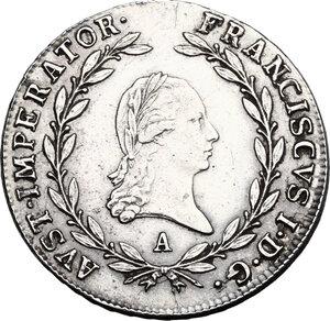obverse: Austria.  Franz I (1804-1835). 20 Kreuzer 1808 A, Wien mint