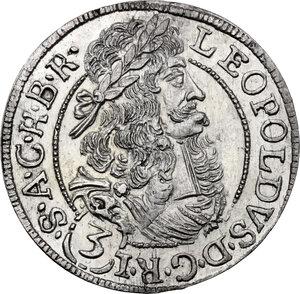 obverse: Austria.  Leopold I (1657-1705).. AR 3 Kreuzer, 1694, Hall in Tirol mint