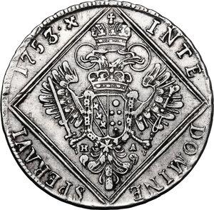 reverse: Austria.  Franz I (1745-1765).. AR 30 Kreuzer 1753, Hall mint