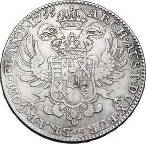 obverse: Austria.  Maria Theresia (1740-1780). AR Taler 1755, Austrian Netherlands, Antwerp mint