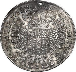 reverse: Austria.  Maria Theresia (1740-1780). AR Taler 1765, Hall mint